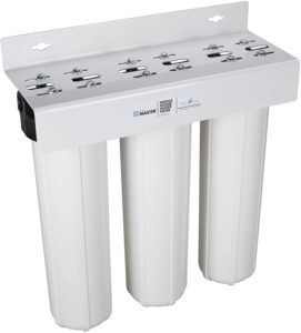 Home Master HMF3SDGFEC 3-Stage Whole House Water Filtration