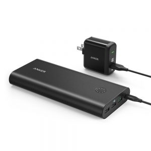 Anker PowerCore+ 26800mAh Power bank with wall charger and Quick charge 3.0
