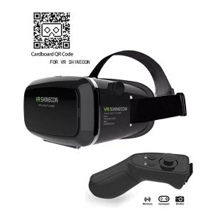 Kamle VR Headset with Bluetooth Remote Controller