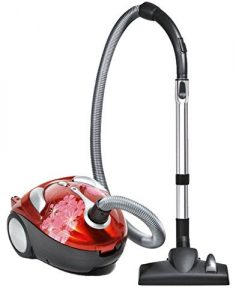 Dirt Devil Tattoo Crimson Bouquet Bagged Canister Vacuum Cleaner