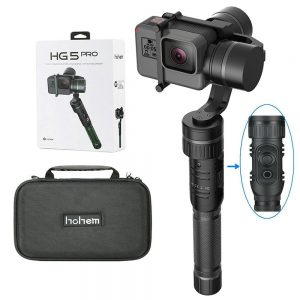 Hohem HG 5 Pro 3-Axis Handheld Gimbal for GoPro Cameras
