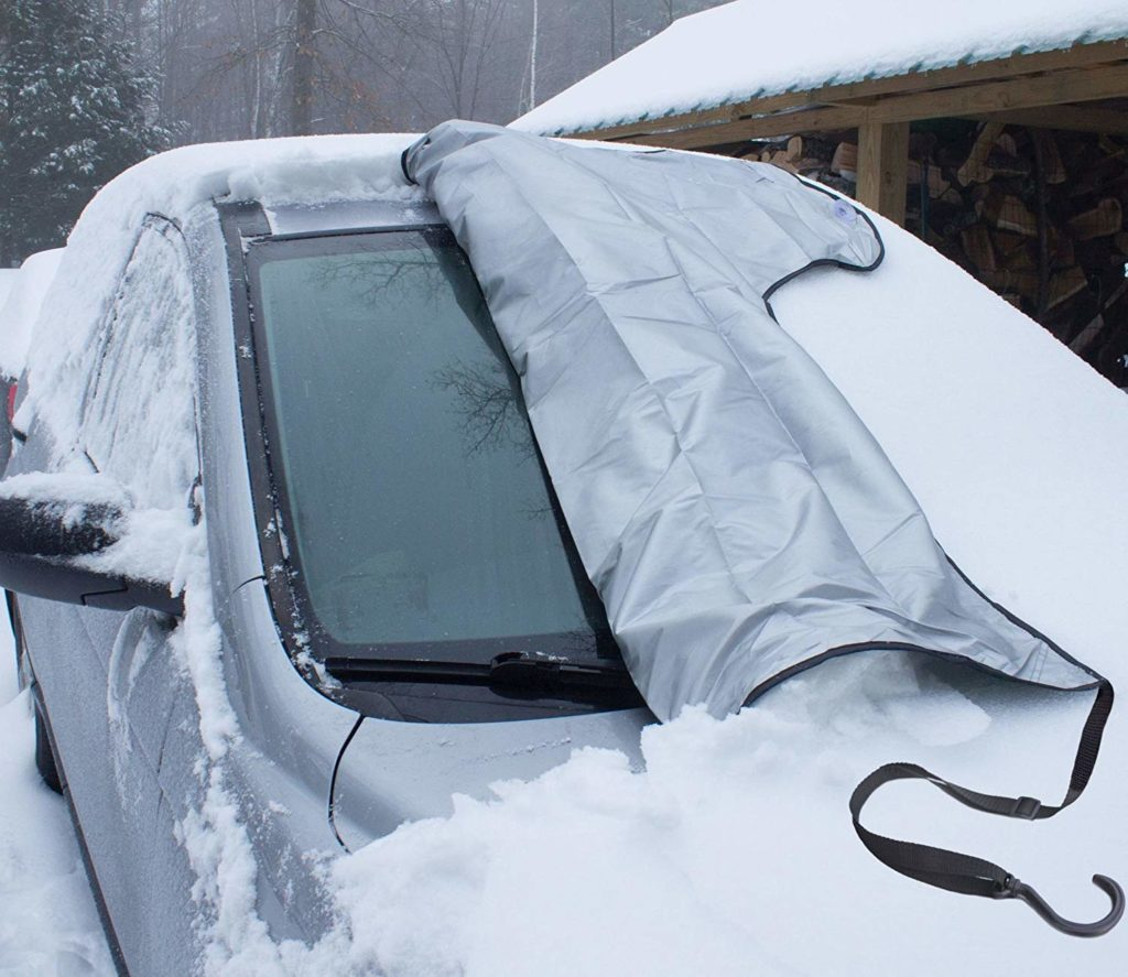 SnowOFF Car Windshield Snow Ice Cover
