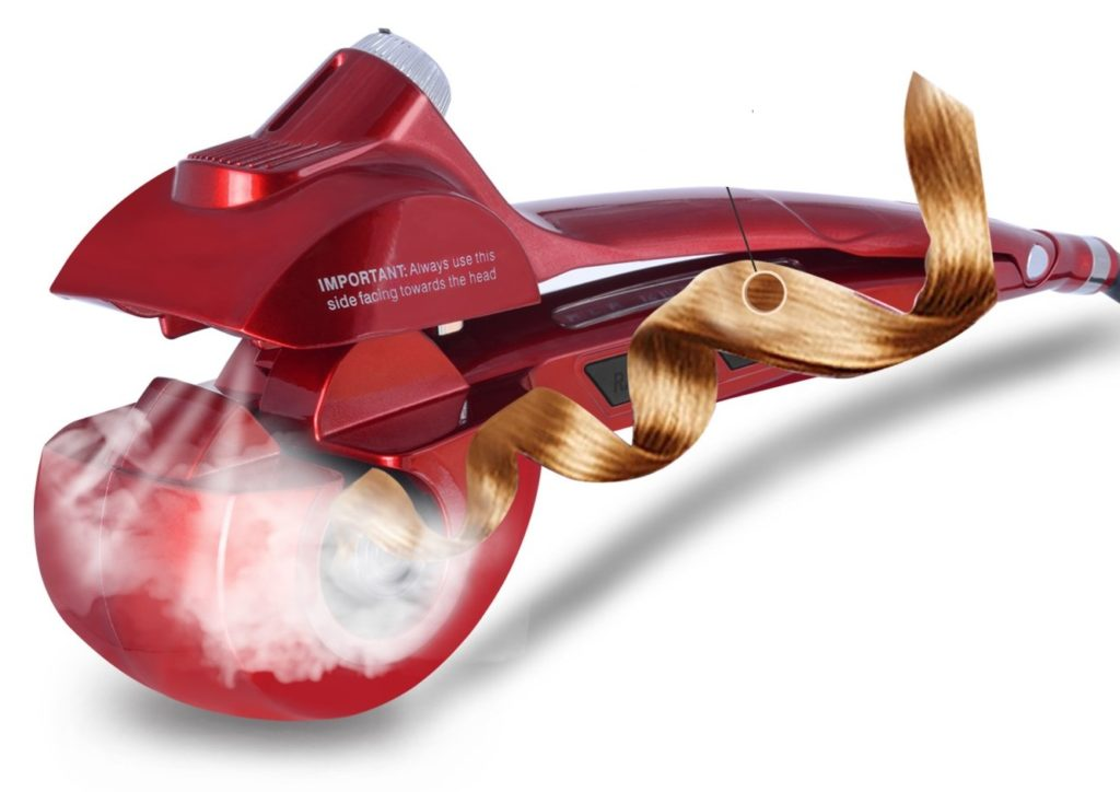 BeQool Automatic Hair Steam Curler