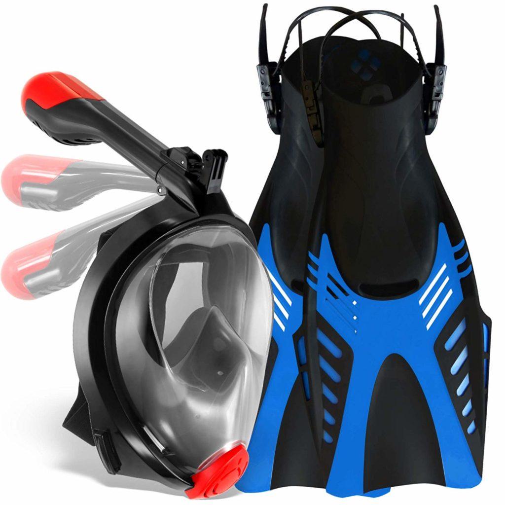 Cozia design Full Face Snorkel Mask