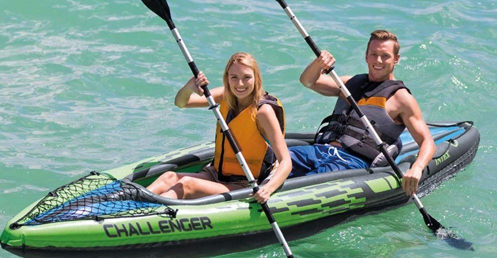 Intex Challenger K2 Kayak for 2 person
