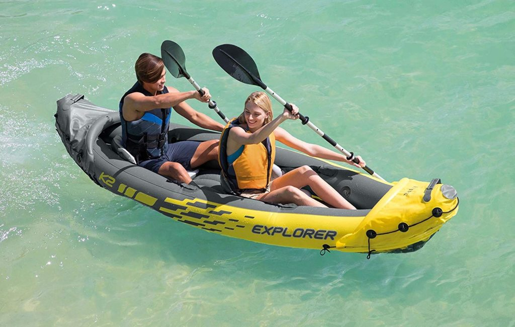 Intex Explorer K2 Inflatable Kayak for 2-Person