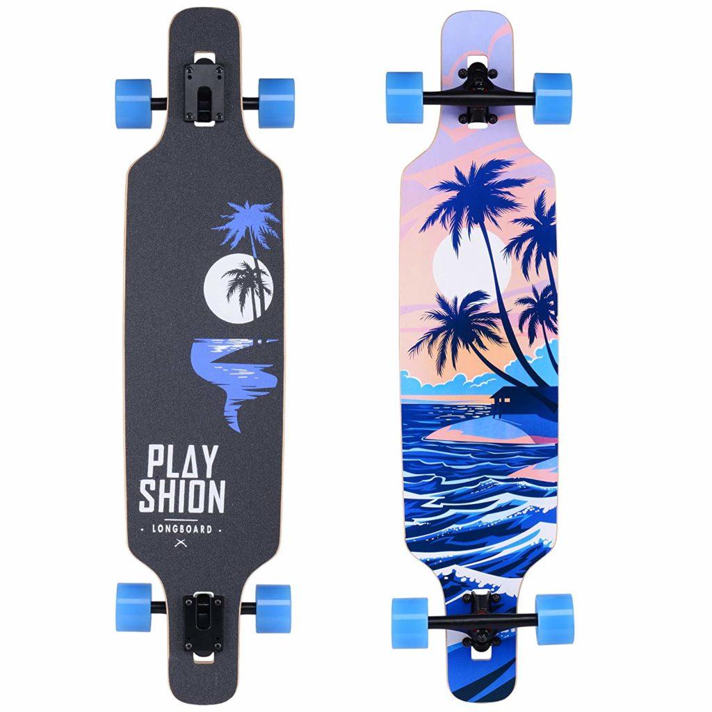 PlayshioDrop Through Freestyle Longboard