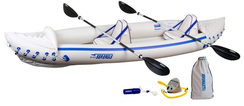 Sea Eagle SE370 Inflatable Kayak for 2 Person