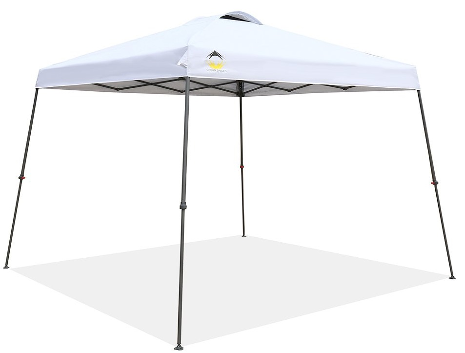 CROWN SHADES 11ft. x 11ft. Instant Folding Pop-up Canopy