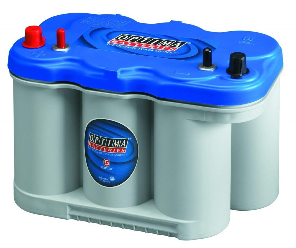 Optima BlueTop D27M Starting and Deep Cycle Marine Battery