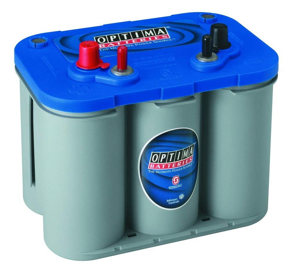 Optima BlueTop D34M Starting and Deep Cycle Marine Battery
