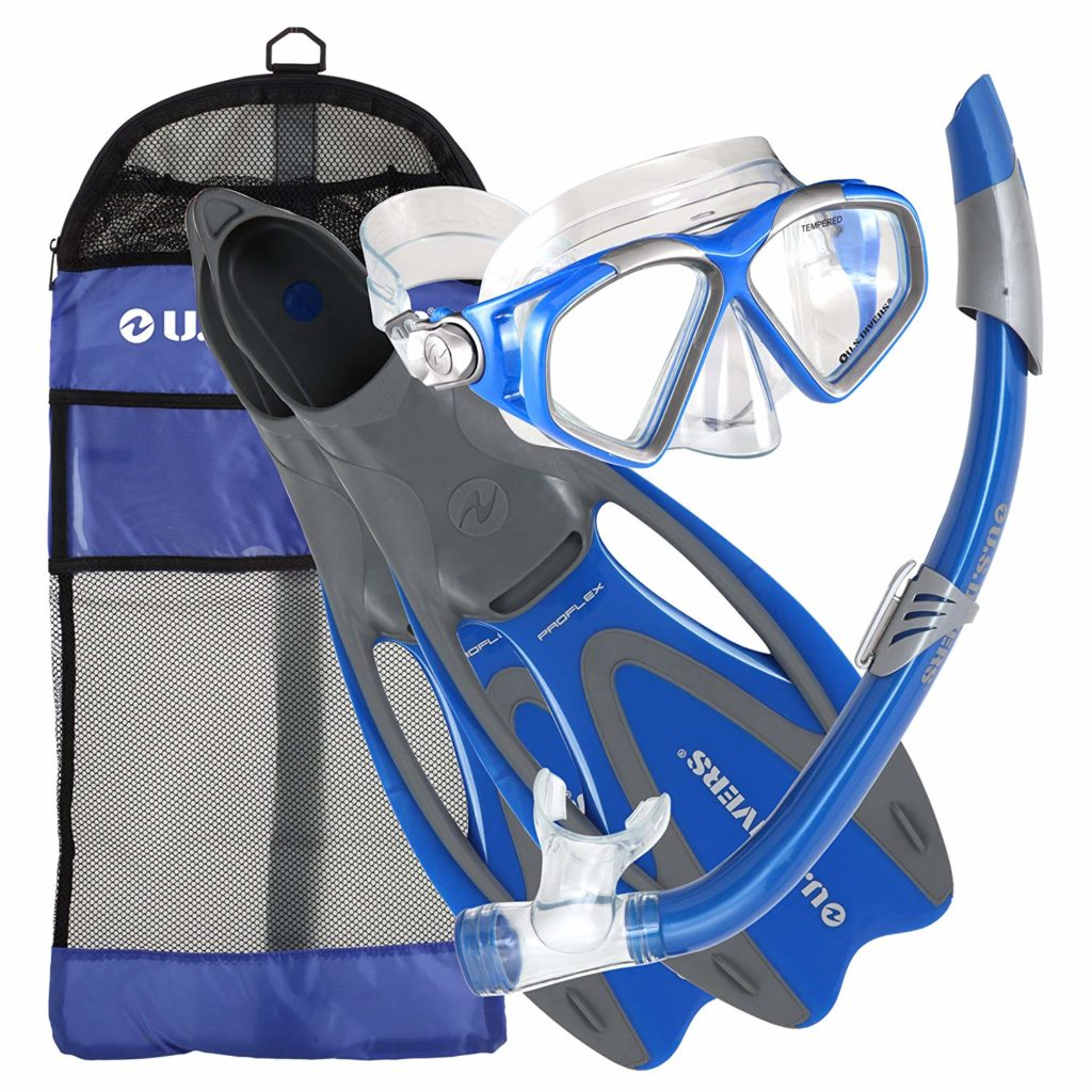 U.S. Divers Cozumel Snorkeling Gear Set