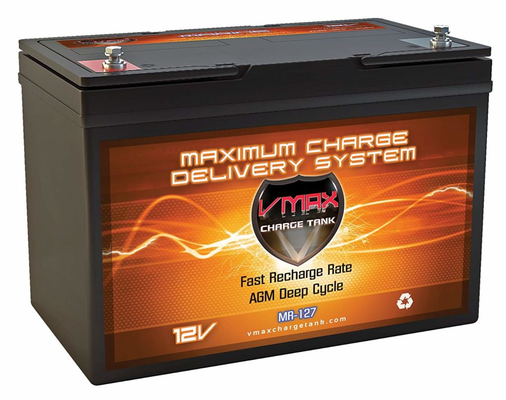 VMAX MR127 AGM Deep Cycle Battery