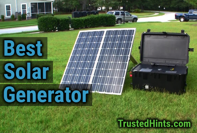 222Wh Portable Solar Generator Power Supply Energy Storage w//USB Charger Light