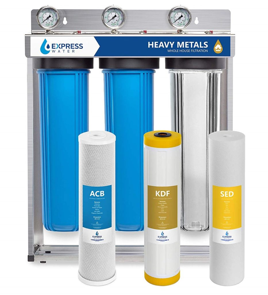 Express Water 3-Stage Whole House Water Filter
